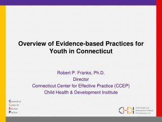 Diagram of Evidence-based Practices for Youth in Connecticut