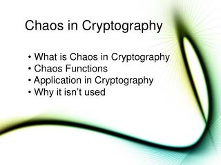 Confusion in Cryptography